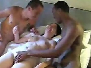 French Teen During Holidays Gets Analsex With 2 Bastards At The Hotel