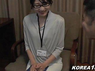 Korean Office Lady Is Horny And Fucked In Japan Jav