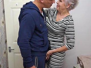 Mature Short Haired Granny Lady Sextacy Gets On Her Knees Any Porn