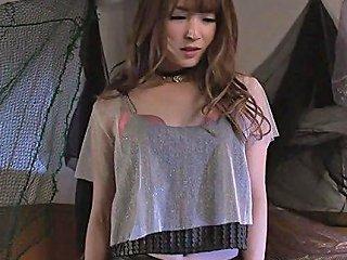 Mouthwatering Japanese Maid Miku Ohashi Gets Doggstyle Sex