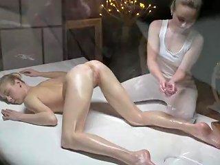Massage Rooms Sensual Orgasms For Beautiful Natural Tits Teen Lesbians