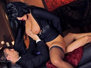Glamorous Milf Alison Gets Hammered Doggystyle And Cums