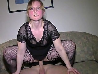 18yo Blond Student Teen In Cute Stockings Fucks First Time With German Boyf