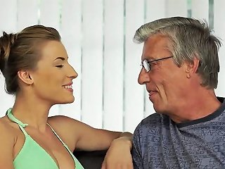 Monster Daddy Sex With Her Boyplayfellows Father After Swimming Pool