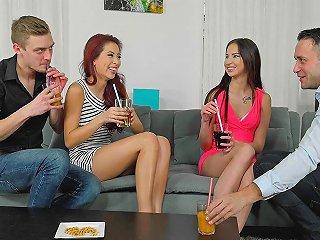 Foursome Sex Extravaganza
