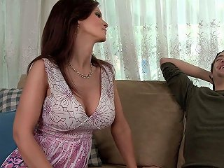 My Friend's Mom Sucking My Cock