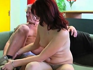 Stunning Dilettante Teen Babe Gives Fat Old Man Blowjob Nuvid