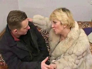 Russian Boy Fucking A Mature Lady In Fur Porn 8e Xhamster