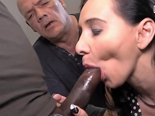 German Old Cuckold Man And Young Teen With Bbc Txxx Com
