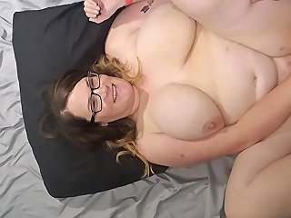 Bbw Wife Fucked And Cum On Face Tits And Belly Vid B