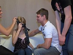 18 videoz from blindfolded bj to foursome orgy porn e2 amateur clip