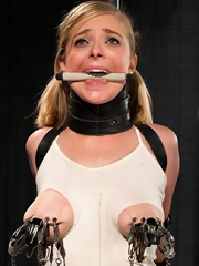 Blonde Cunt Penny Pax Subjected to Brutal Bondage