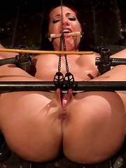 Kelly Divine Stretched, Fucked, Flogged, and Squirting Everywhere; Rosebud Exposed!!