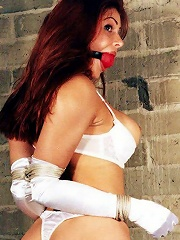 Blonde Girl in BDSM