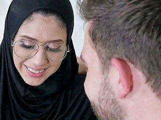 Shy Arab Babe Wearing...