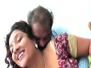 Bhabhi With Fan Loving...