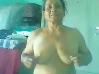 Punjabi Old Lady...