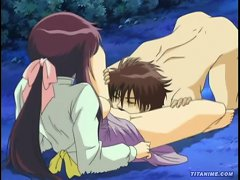 Innocent Teen Anime Girl Moans As Her Firm Breasts And Hard Nipples Are Sucked And Squeezed