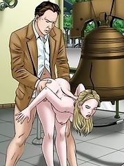 Here Is The True Treasure! Finding Hot Babe Like This One Is Totally Awesome. She Knows How To Handle Big Cock In This Hentai Scene^gogocelebs Cartoon