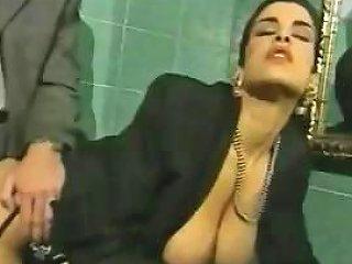 Busty Italian Brunette Cheats On Husband Fucking In Bathroom Nuvid