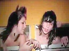 Emo Homemade Teen Threesome