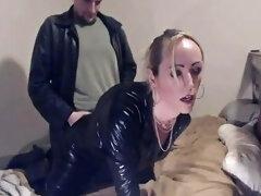 Smoking Crossdresser Gets Fucked