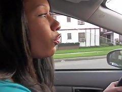 Blown In Public By Ebony Chick