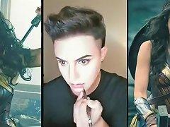 Man Became Wonder Woman