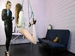 Mistress Priest Tortures Her Bondaged Slave With Electro