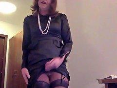 Transvestite Masturbation In Satin Dress Free Gay Porn 97