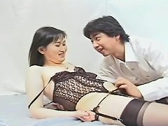 Lovely Japanese Shemale Chokes On A Dick