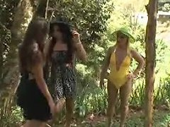 Awesome Threesome In The Woods Txxx Com