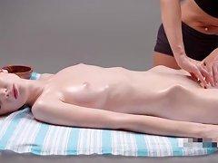 Hot Teen Supermodel Seductive Sensual Massage